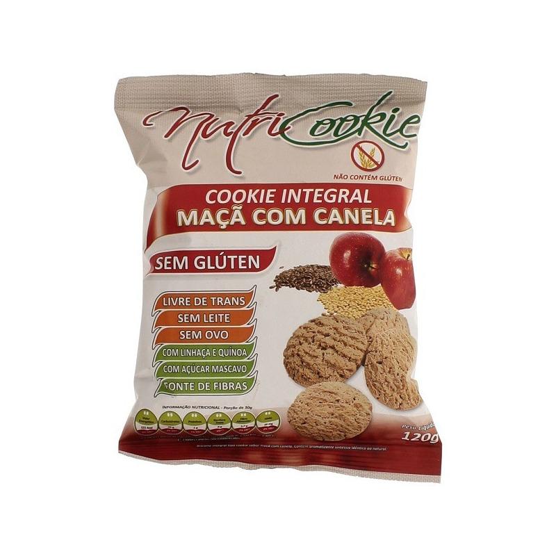 NutriCookie Integral Maca c/ Canela S/ Gluten 120gNutriPleno
