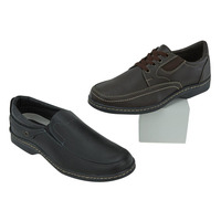 Combo Zapatos Casuales 2X1 Cafe Y Negro 017550
