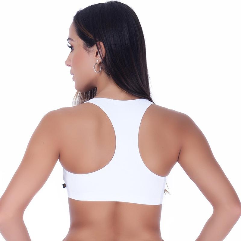 Top Summer Soul Fitness Basic Branco