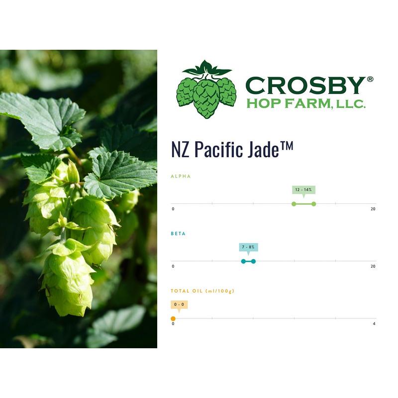 Lúpulo NZ Pacific Jade - CROSBY -