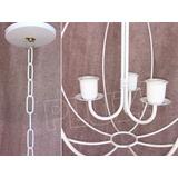 Lámpara Colgante Araña Globo chico 3 Luces ...