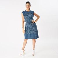 Vestido corto sin manga 019-121