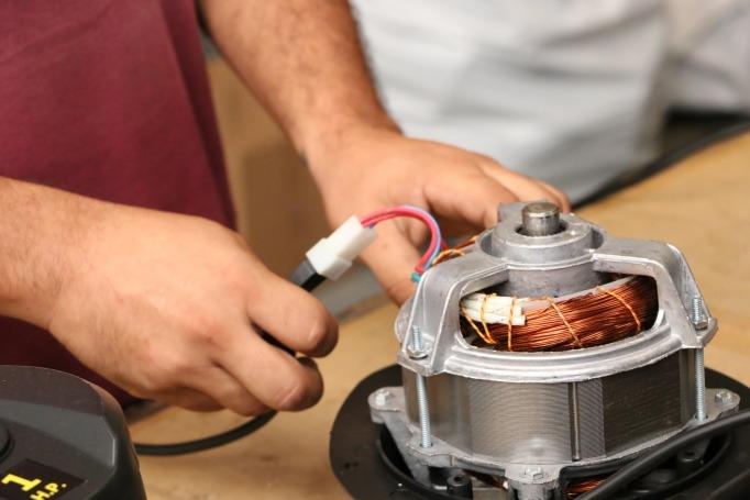 Motor Eléctrico Araña 1 HP