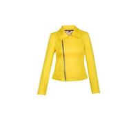 Saco amarillo con cierre 012392