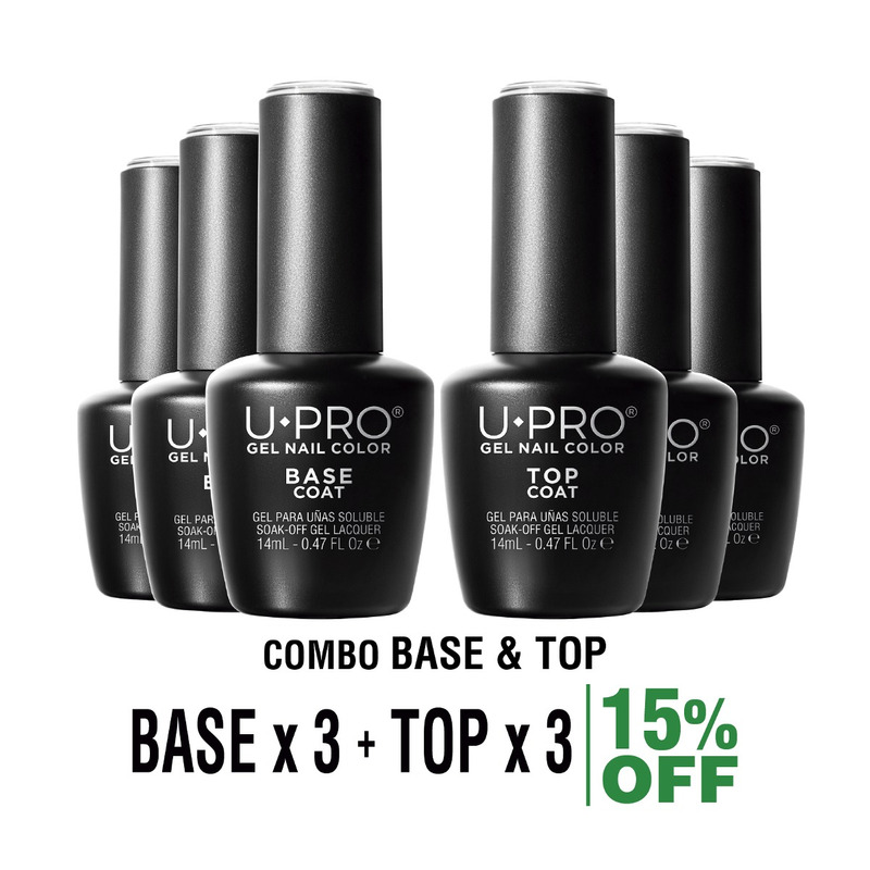 Combo U·PRO X3 Base + 3 Top Coat