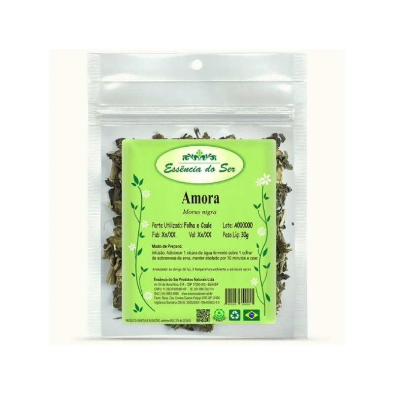 Cha de Amora - Kit 3 x 30g - Essencia do Ser