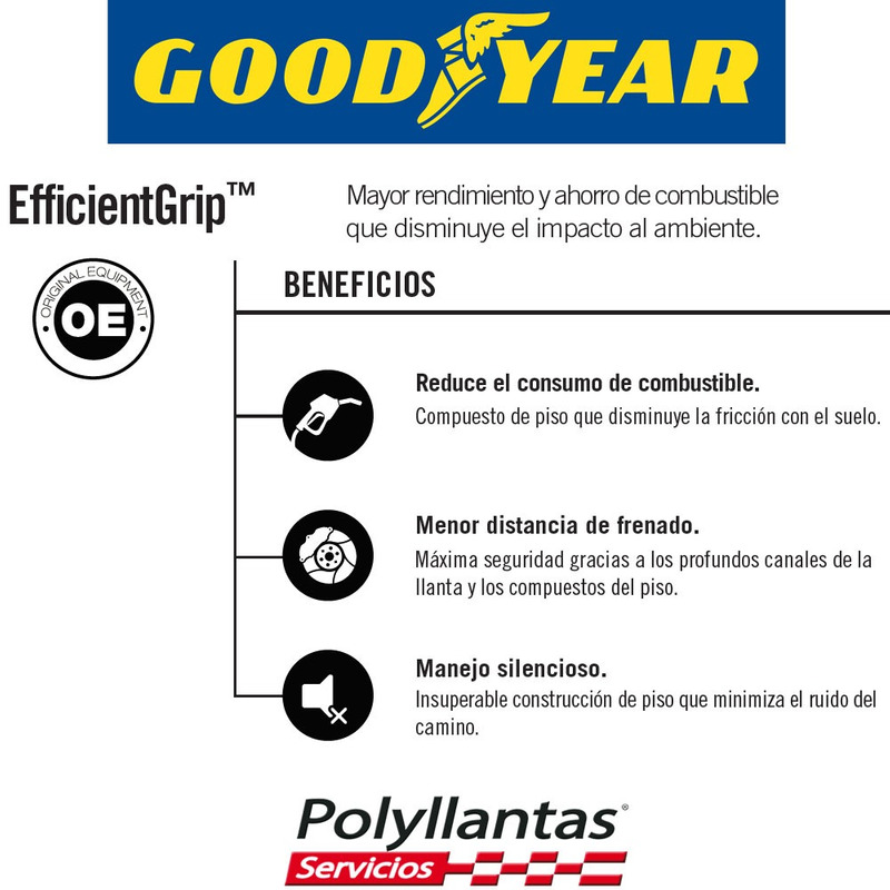 215-40 R17 GOODYEAR EFFICIENTGRIP  SAGY
