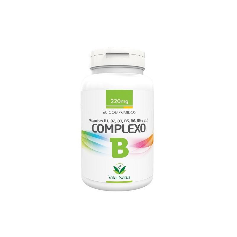 Complexo B - 60 comprimidos de 220mg - Vital Natus