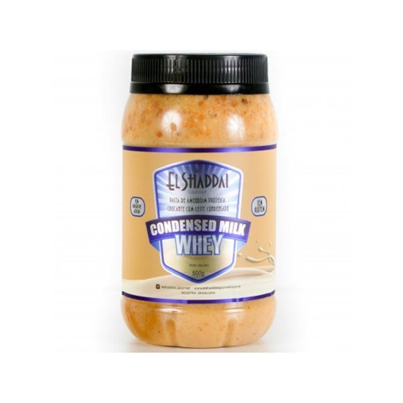 Pasta com Leite Condensado Whey 500g - El Shaddai Gourmet
