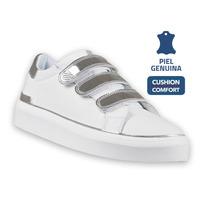 Sneakers Kswiss Blanco Con Plata  K8F279