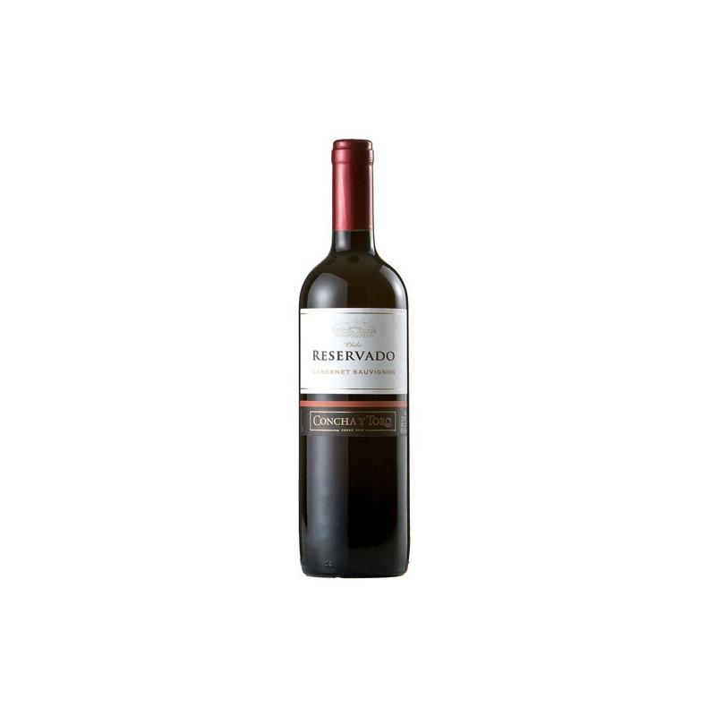 Vinho Fino Cabernet Sauvignon Reservado 750ml - Concha y Toro