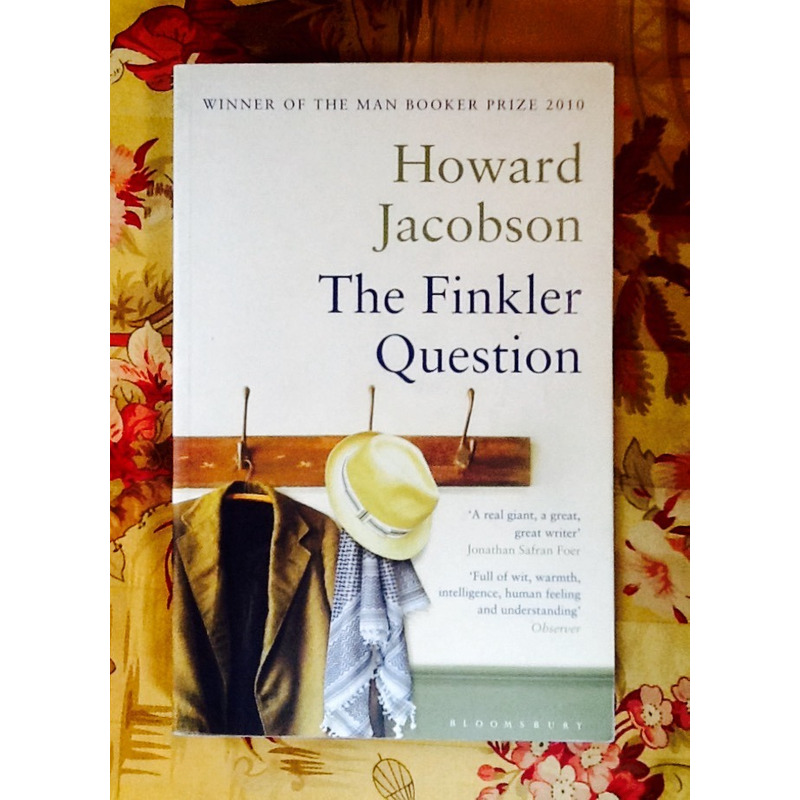 Howard Jacobson.  THE FINKLER QUESTION.