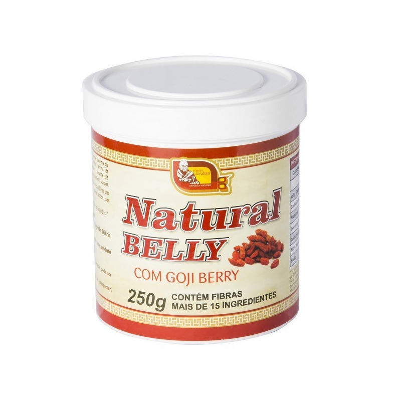 Natural Belly com Gojiberry - 250g - Mosteiro Devakan