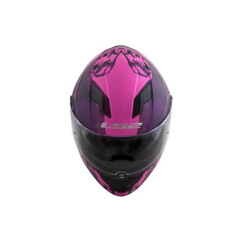 Capacete LS2 FF320 Stream Hype Rosa