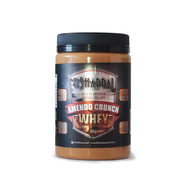 Amendo Crunch Whey - 1Kg - El Shaddai Gourmet