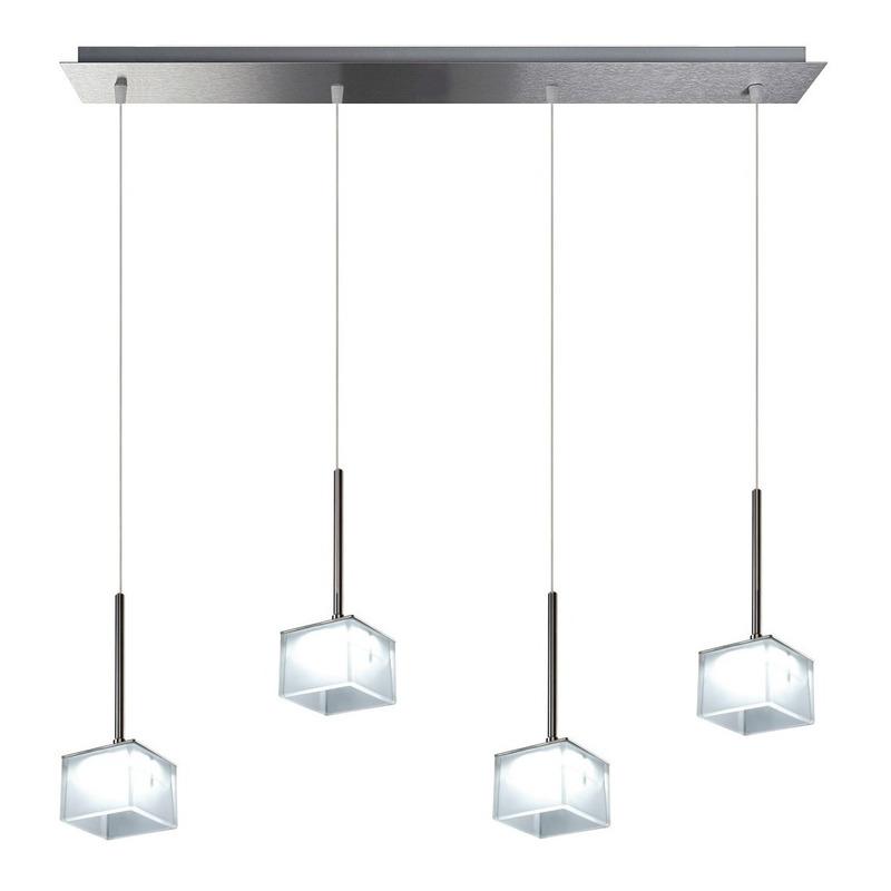 Colgante Cube 1 Luz Led 12w Dimerizable Diseño Exclusivo