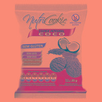 NutriCookie Integral de Coco Sem Gluten 35g - NutriPleno