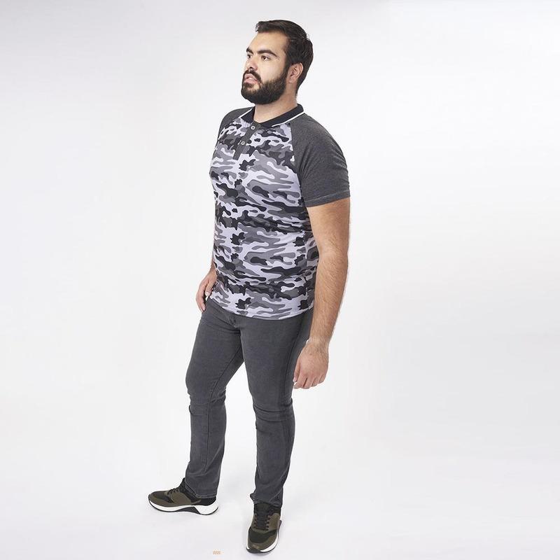 Camisa Gris Camuflaje 019291