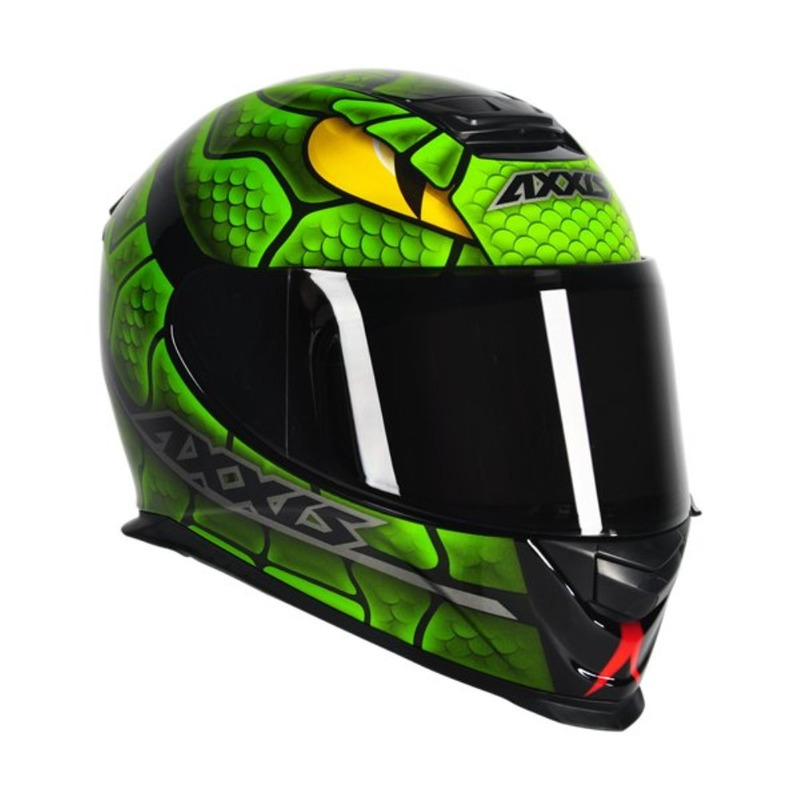 Capacete Axxis Eagle Snake Verde