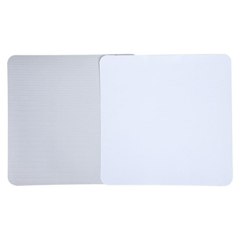 Lona pvc para banner Unibanner  branca fosca verso cinza (280 g) larg. 2,03 m