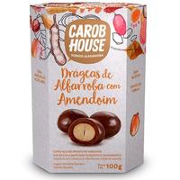 Alfarroba com Amendoim - Caixa com 100g - CarobHouse