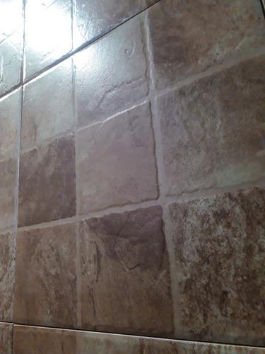 Ceramica Barata Exterior Porfido Marron 35x35 Patio Alto Tra