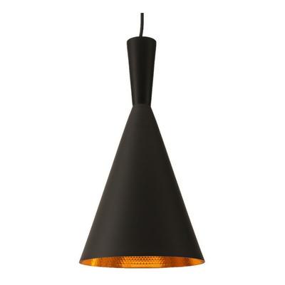 Lámparas Colgantes Modernas Beat Tall Negro Tom Dixon Sf