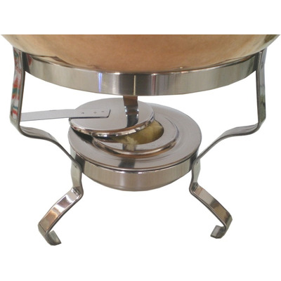 Fondue cobre pinches mechero bandeja ac cazuelas cobre 2 - Cazuelas de cobre ...