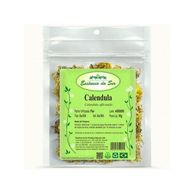 Cha de Calendula - 30g - Essencia do Ser