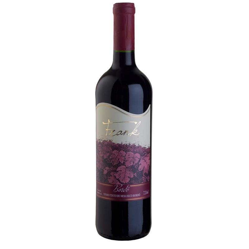 Vinho Tinto Seco Bordô 720ml - Frank