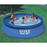Pileta Intex Inflable  De Lona Redonda 366 Cm X 76 Cm