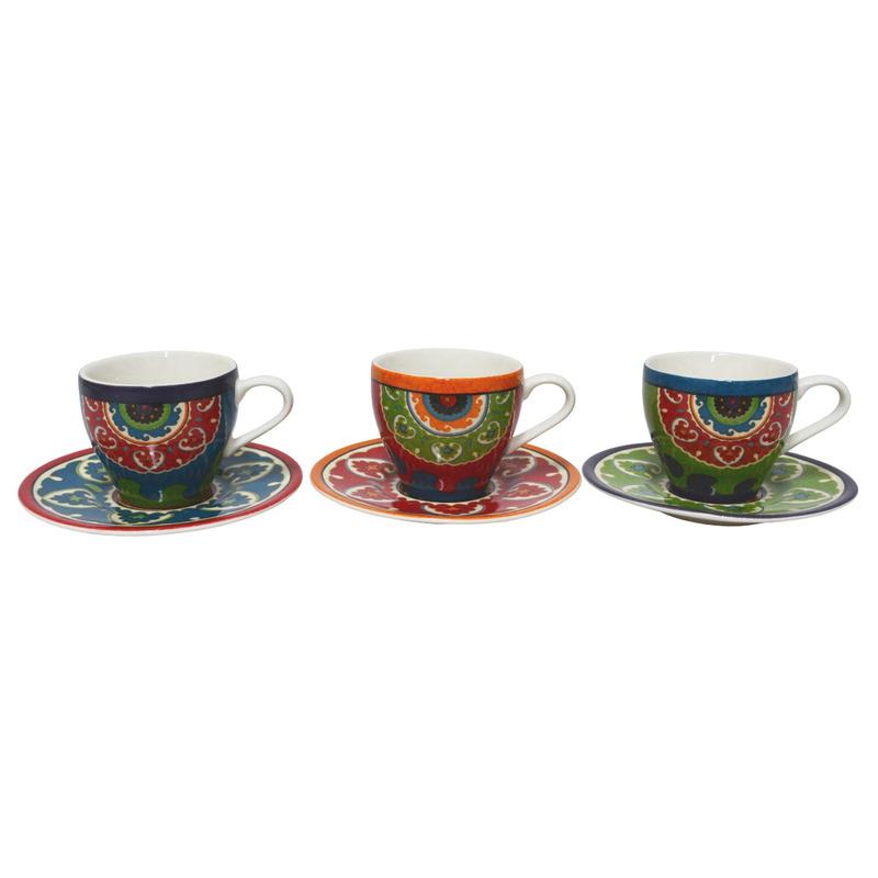 Jg 12 Pcs Porcelana P/Cafe Royal Suzani 7521795