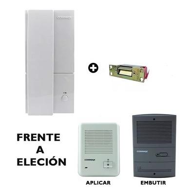 Portero Commax Dp 201la Cerradura Electrica Completo Oferta