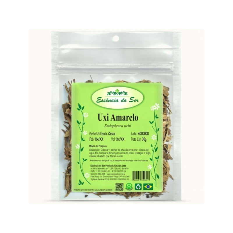 Cha de Uxi Amarelo - Kit 2 x 30g - Essencia do Ser