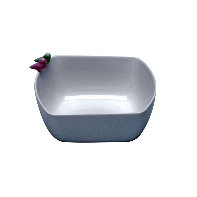 Bowl De Porcelana Bird 16,6X15X8,2Cm - Wolff 31017303