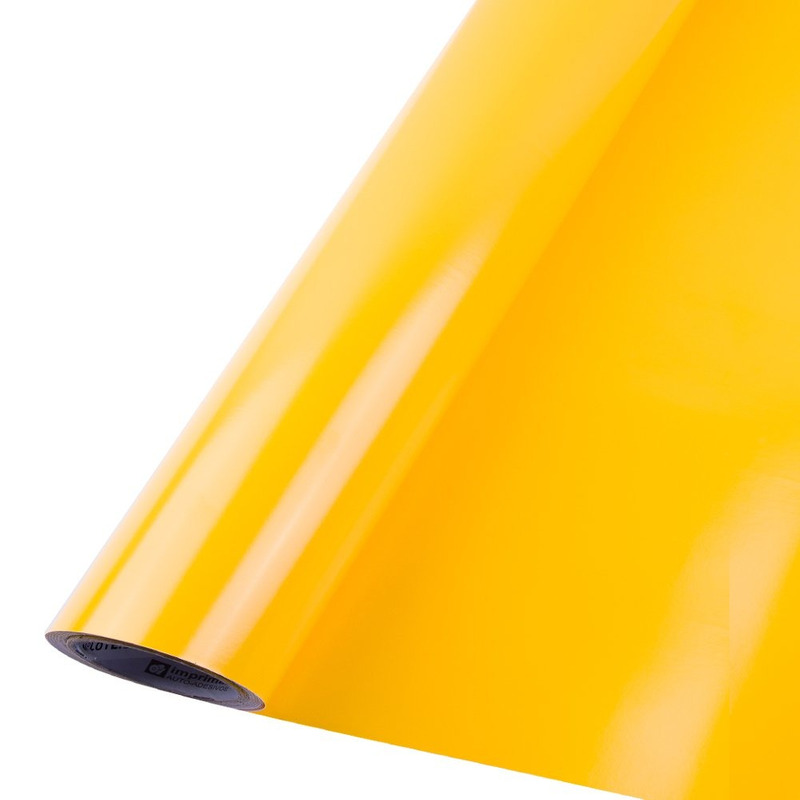 Vinil adesivo Gold Max amarelo médio larg. 0,61 m