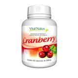 Cranberry - 60 Capsulas de 500mg - Vital Natus