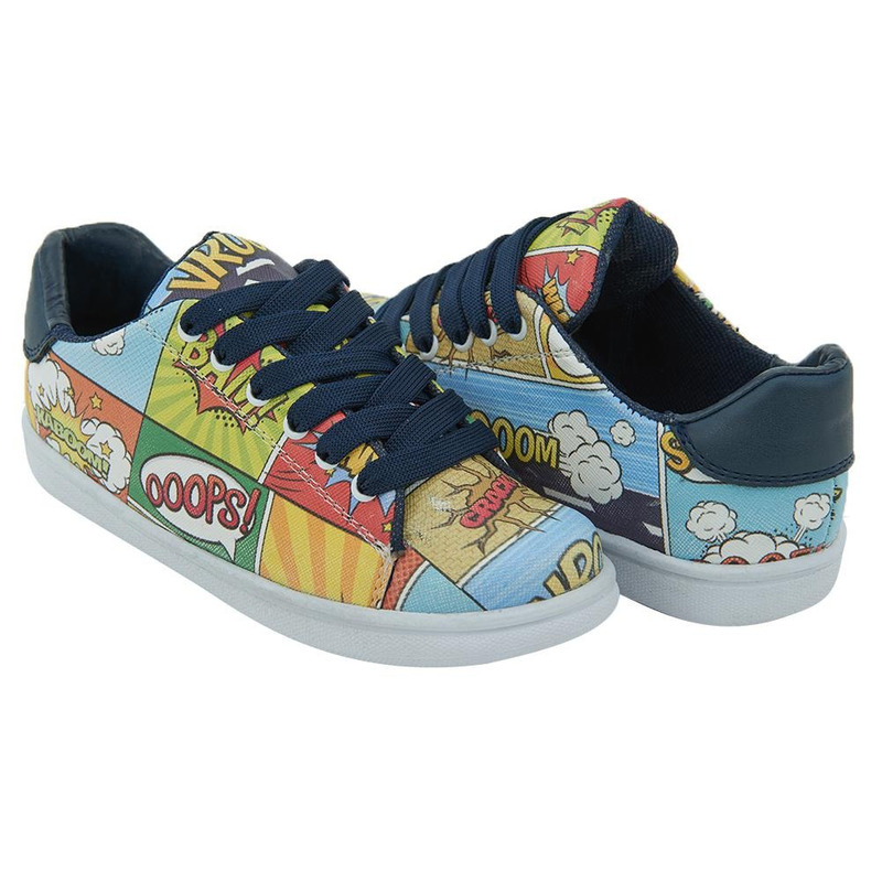 Sneakers Multicolor Estampados 020546