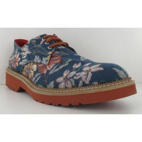 Zapato azul estampado 011357