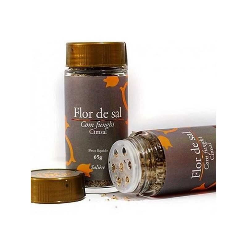 Flor de Sal com Funghi - 65g - Cimsal