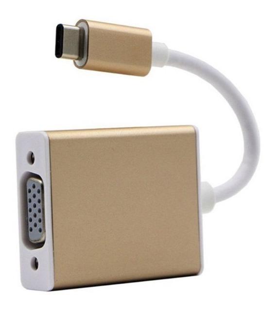 Cable Adaptador Usb 3.1 Tipo Type C A Vga Macbook 2015 2016