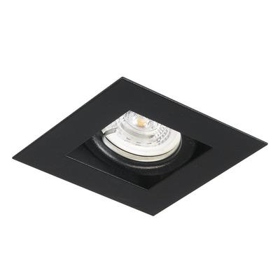 Pack X 10 Spot Embutir Antideslumbrante Gu10 Led 7w Negro