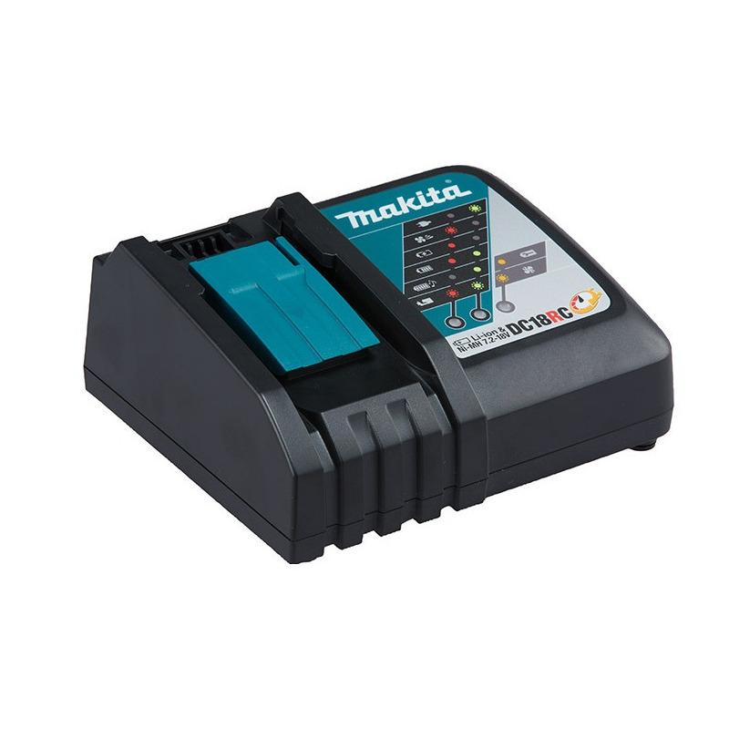 "Chave de Impacto à Bateria 1/2"" + 2 Baterias 18V DTW285RME - Makita"