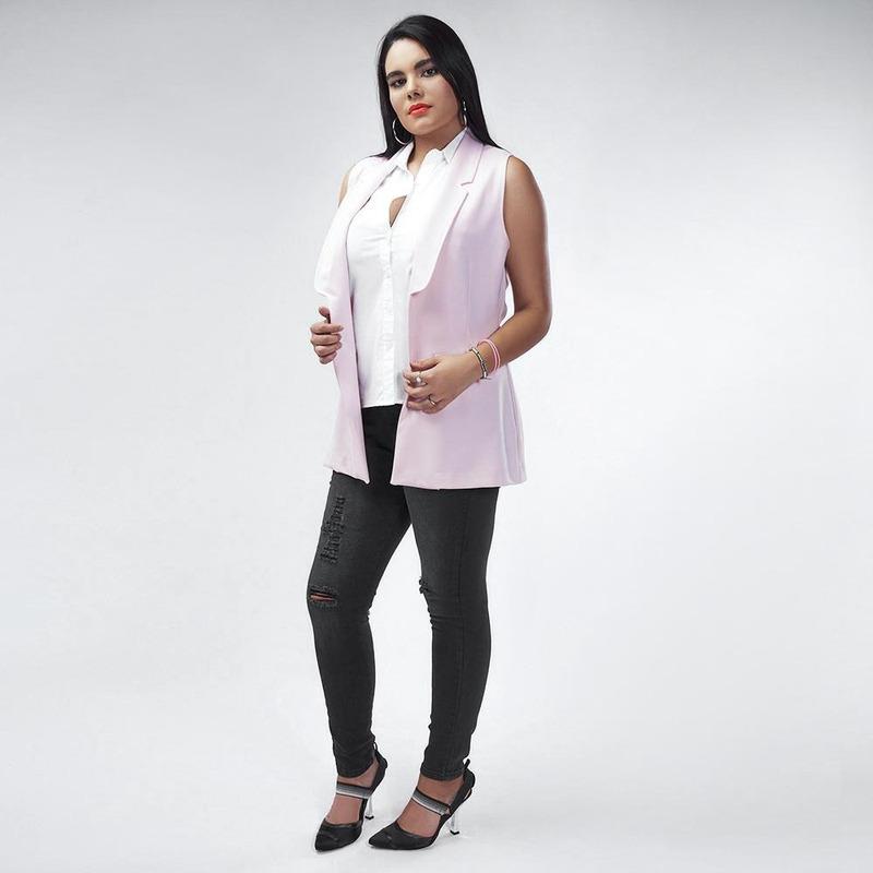 Chaleco Rosa 019471
