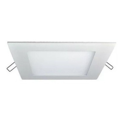 Spot Panel Led 6w Embutir Cuadrado Blanco Calidad Luz Desing