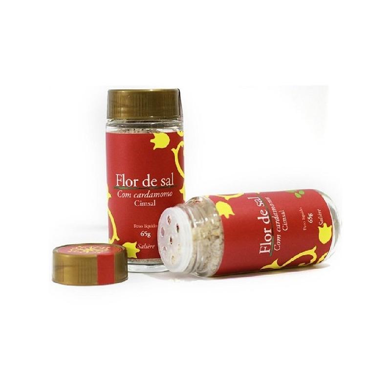 Flor de Sal com Cardamomo - 65g - Cimsal