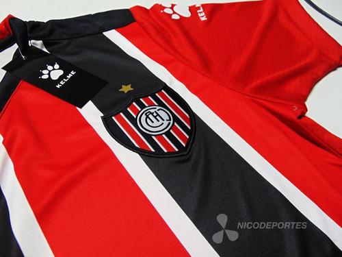 Camiseta Chacarita Titular Kelme 2018 2019 Numero Gratis en venta en ... 7b3e767d1ab15
