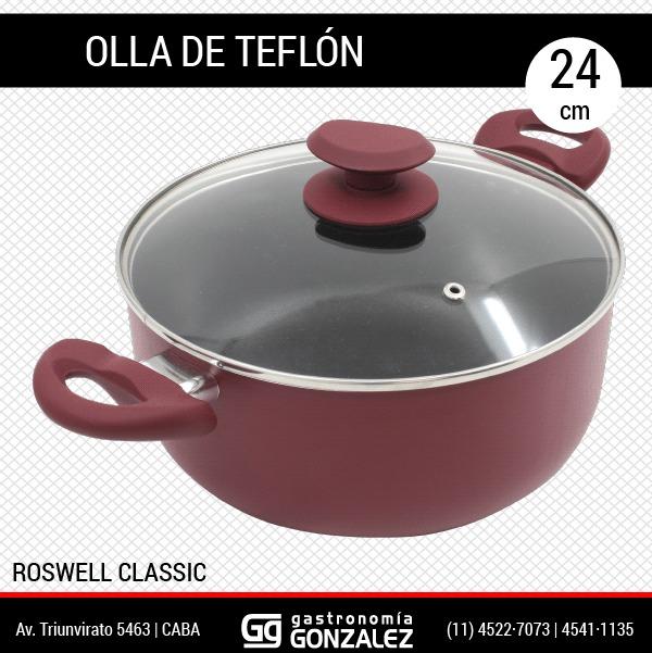 Cacerola de teflon Guadix 22