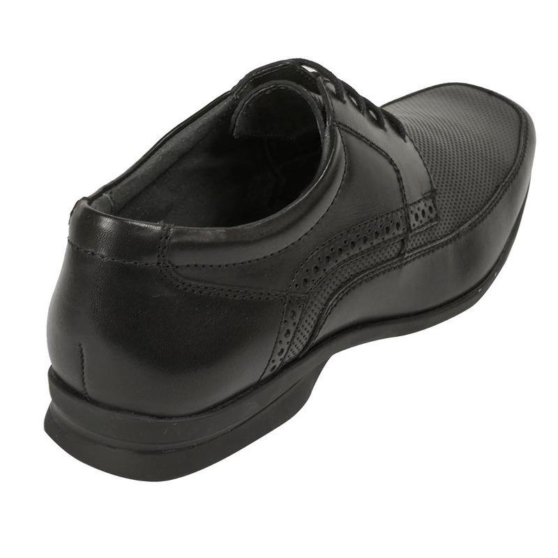 Zapato vestir Flexi negro agujetas F59301