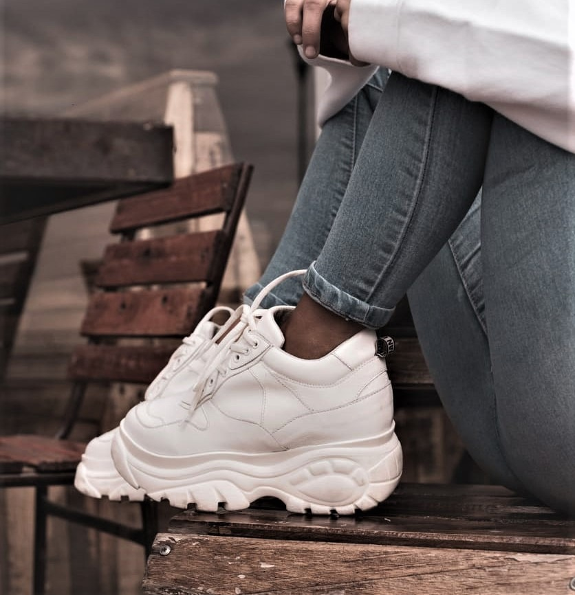 Zapatilla Caraz Blanco